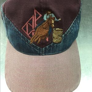 Women barrel racing ball cap